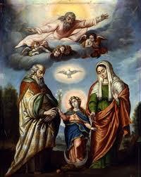 SAN JOAQUÍN Y SANTA ANA, padres de la santísima Virgen María