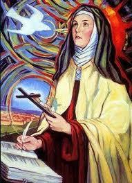 SANTA TERESA DE ÁVILA, virgen, fundadora de las Carmelitas descalzas , doctora de la Iglesia, 1515-1582