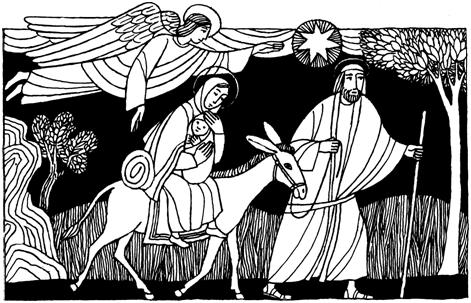 La Sagrada Familia Jesús María Y José Domingo Dentro A La Octava