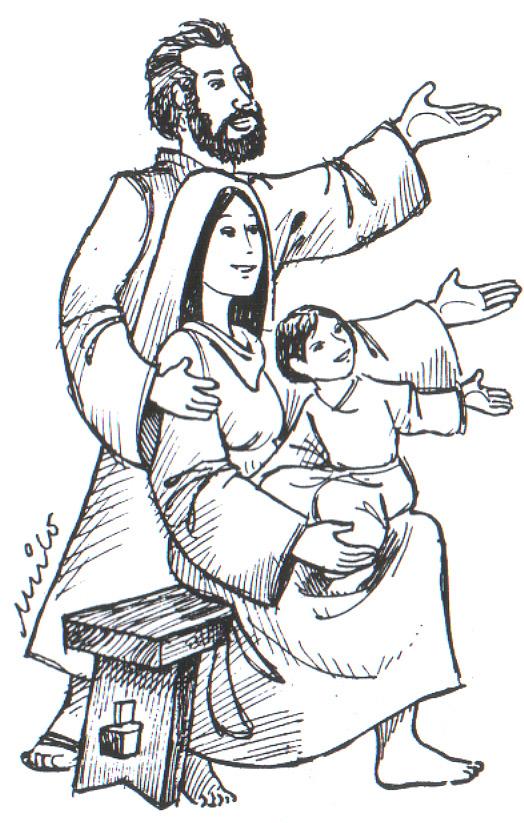Solemnidad De La Sagrada Familia Jesús María Y José