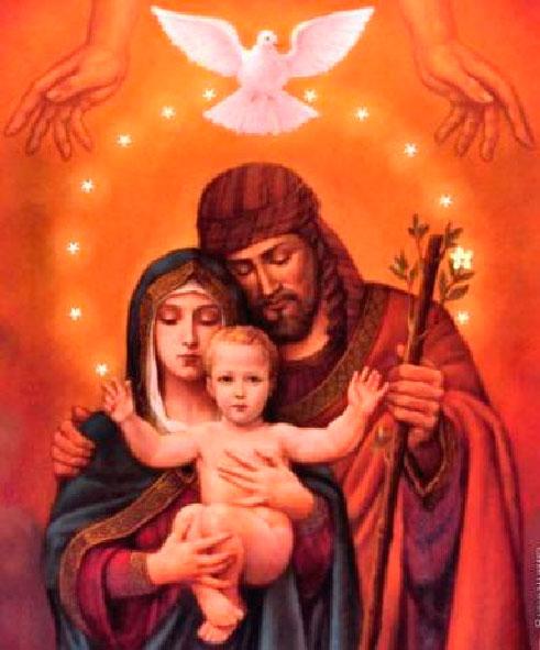Solemnidad de la Sagrada Familia Jesús, María y José