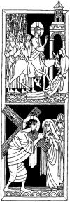 Domingo de Ramos - Encuentro de Jesús con su madre