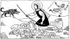 El Buen Pastor da su vida para las ovejas