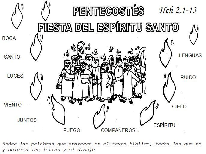 Solemnidad De Pentecostés Gráficos Videos Y Audios