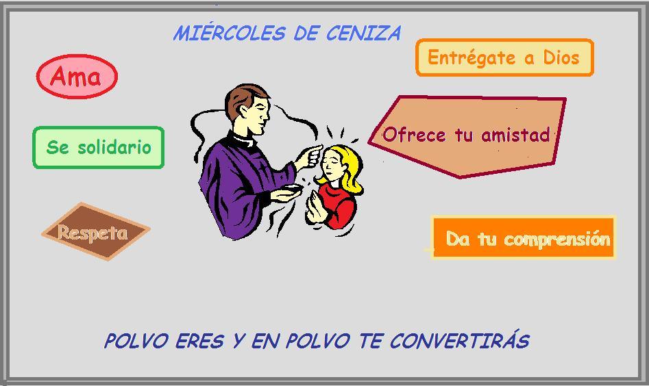 Miércoles de Ceniza - Recursos (imágenes, gráficos, videos, audios ...