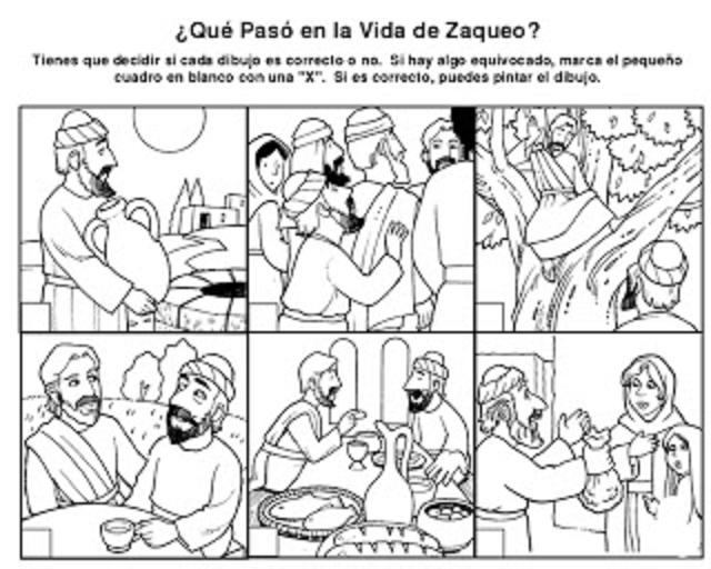 Domingo 31 Tiempo Ordinario C - \'Zaqueo\' - Recursos (imágenes ...