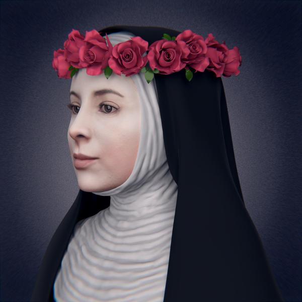 Santa Rosa de Lima - Reconstrucción del rostro