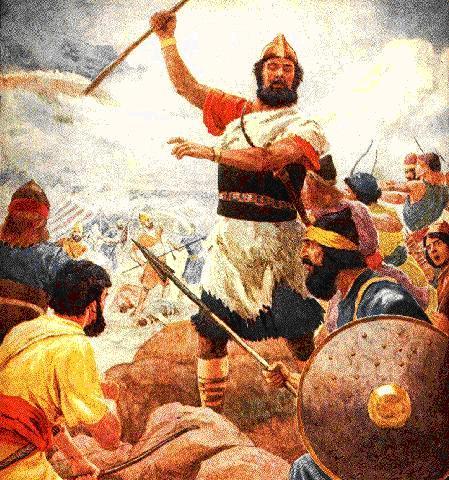 Resultado de imagen para el rey david sale a la guerra