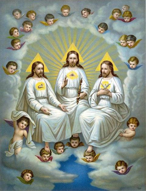 Resultado de imagen para dios padre hijo y espíritu santo