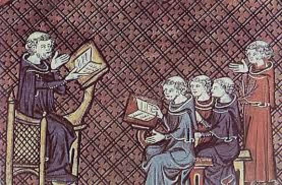 Resultado de imagen de LA LECTURA Y LAS BIBLIOTECAS en la Baja Edad Media