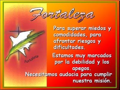 Dones del Espíritu Santo: Don de la Fortaleza