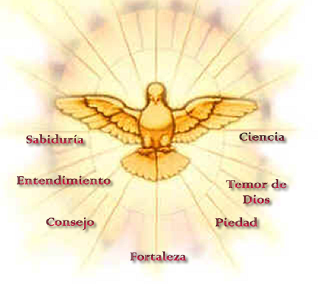 Resultado de imagen para imagenes del espiritu santo para niños