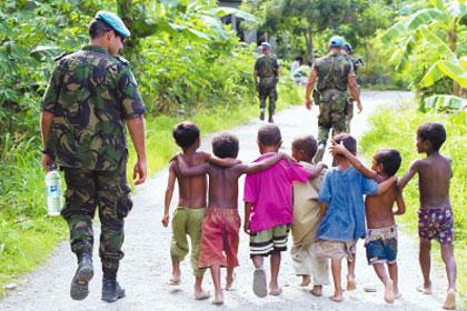 Bienaventurados los que trabajan por la paz
