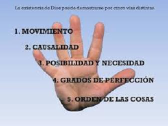 La Existencia De Dios Las Cinco Vías De Tomás De Aquino Para La Demostración De La Existencia De Dios Y Otros Argumentos
