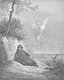 Dore_11_1Kings19_Elijah Is Nourished by an Angel