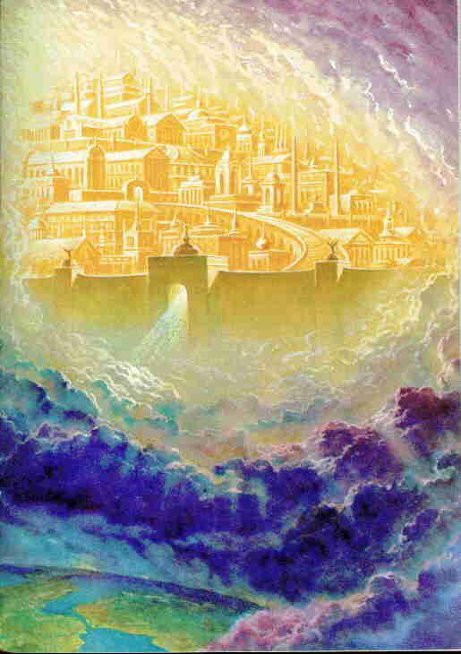 Apocalipsis - Ap. 21:2 La ciudad santa en la luz. Imágenes