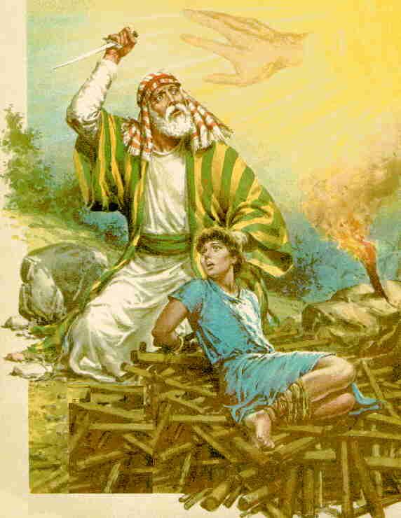 DIOS PRUEBA EL AMOR DE ABRAHAM.