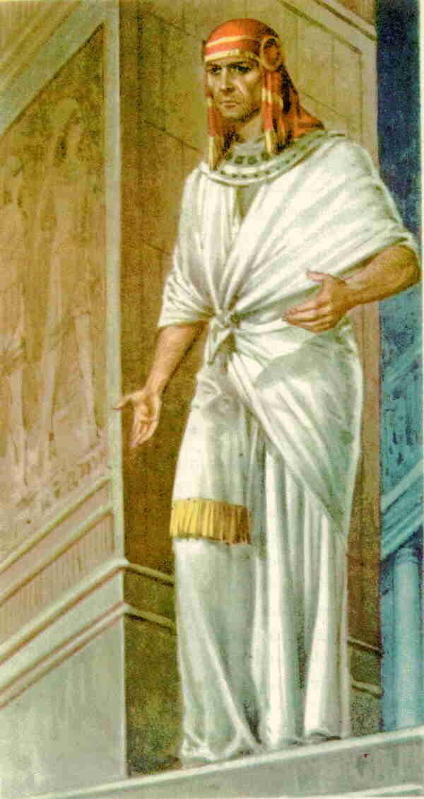 Ge 41:44 Y dijo Faraón á José: Yo Faraón; y sin ti ninguno alzará ...