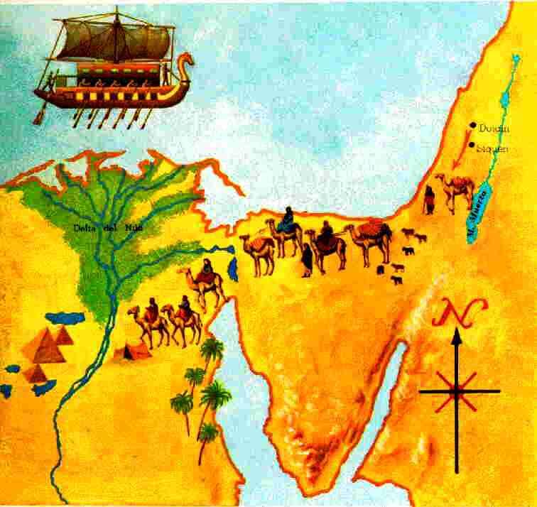 Ge 39:1 Y LLEVADO José á Egipto, comprólo Potiphar, eunuco de ...