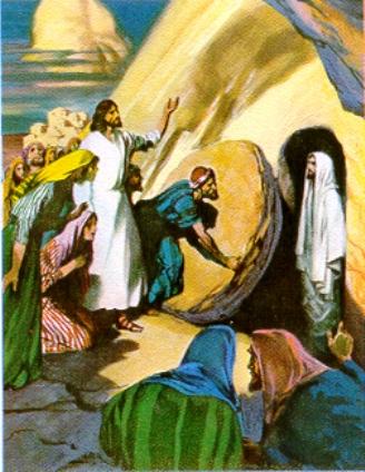 La rueda de queso del santo sepulcro LaResurreccionDeLazaro