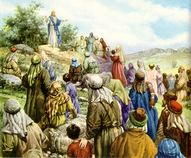 Jesus - Mt 5, 1 Sermn del Monte, las bienvaventuranzas