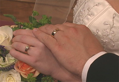 Bendici n de los anillos rito bizantino para ayudar a los casados a recordar sus anillos - En que mano se lleva el anillo de casado ...
