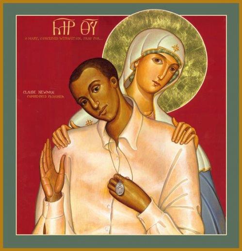 Claude Newman y la Virgen que le apareció