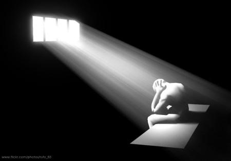 encarcelado experimenta la conversión